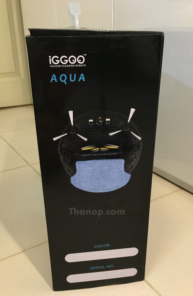 iGGOO AQUA Box Left