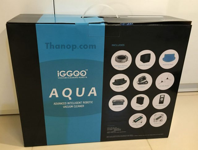 iGGOO AQUA Box Rear