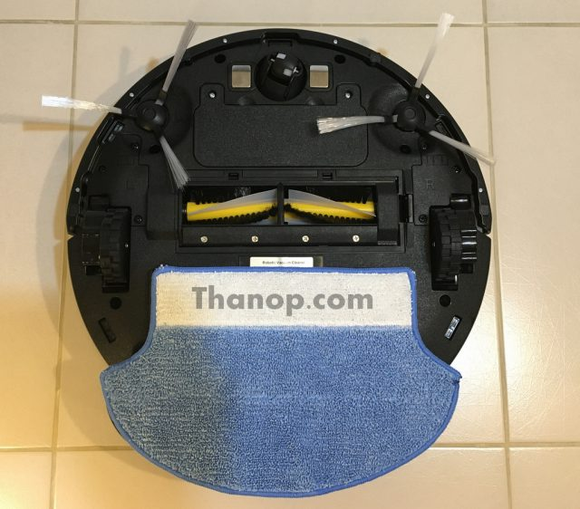 iGGOO AQUA Component Underside with Mopping Function