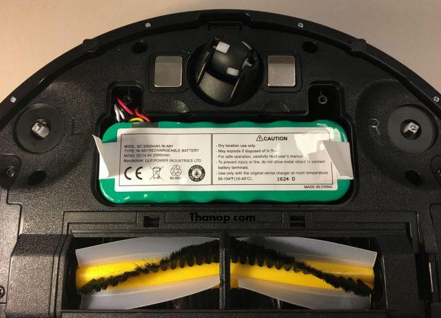 iGGOO AQUA Underside Battery Slot with Battery