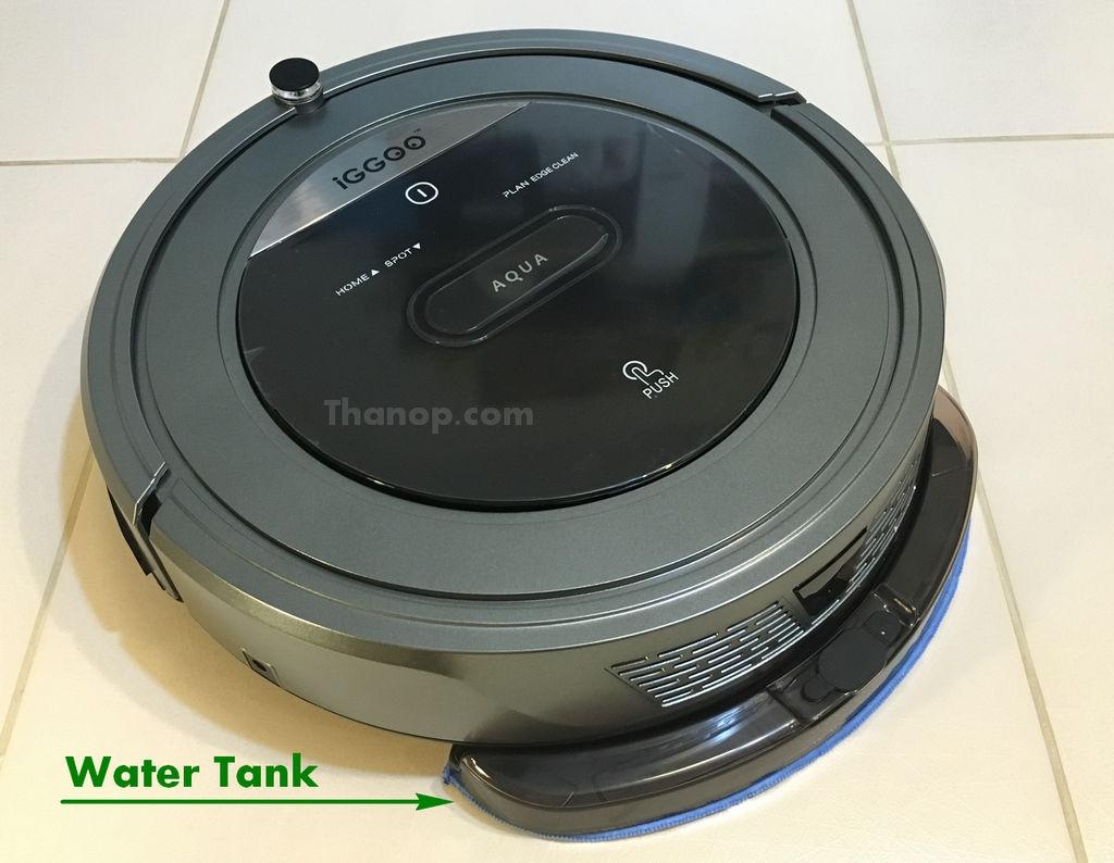 iGGOO AQUA Water Tank Installed