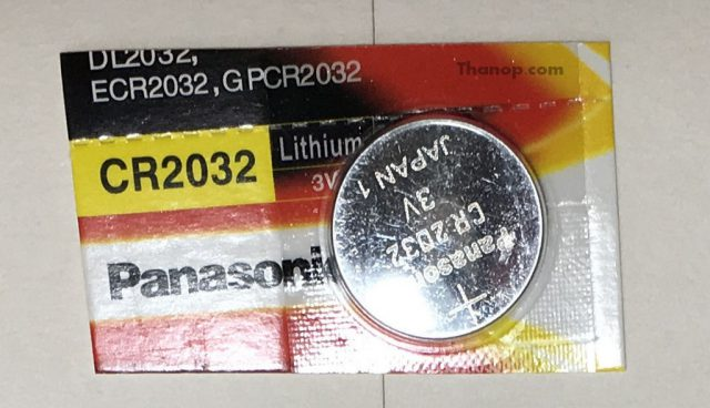 GlassBot W110S Remote Control Battery