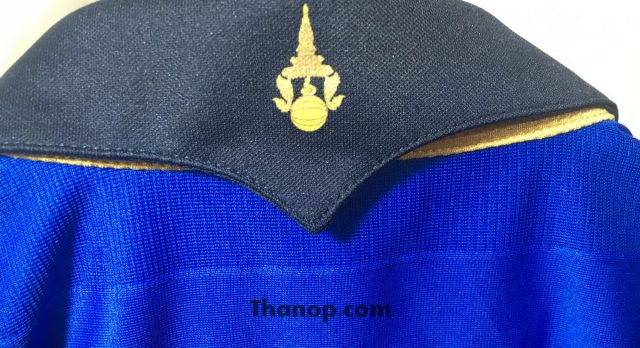 Thai National Football Jersey 2016 Collar Back