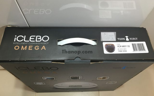 iClebo OMEGA Box Top