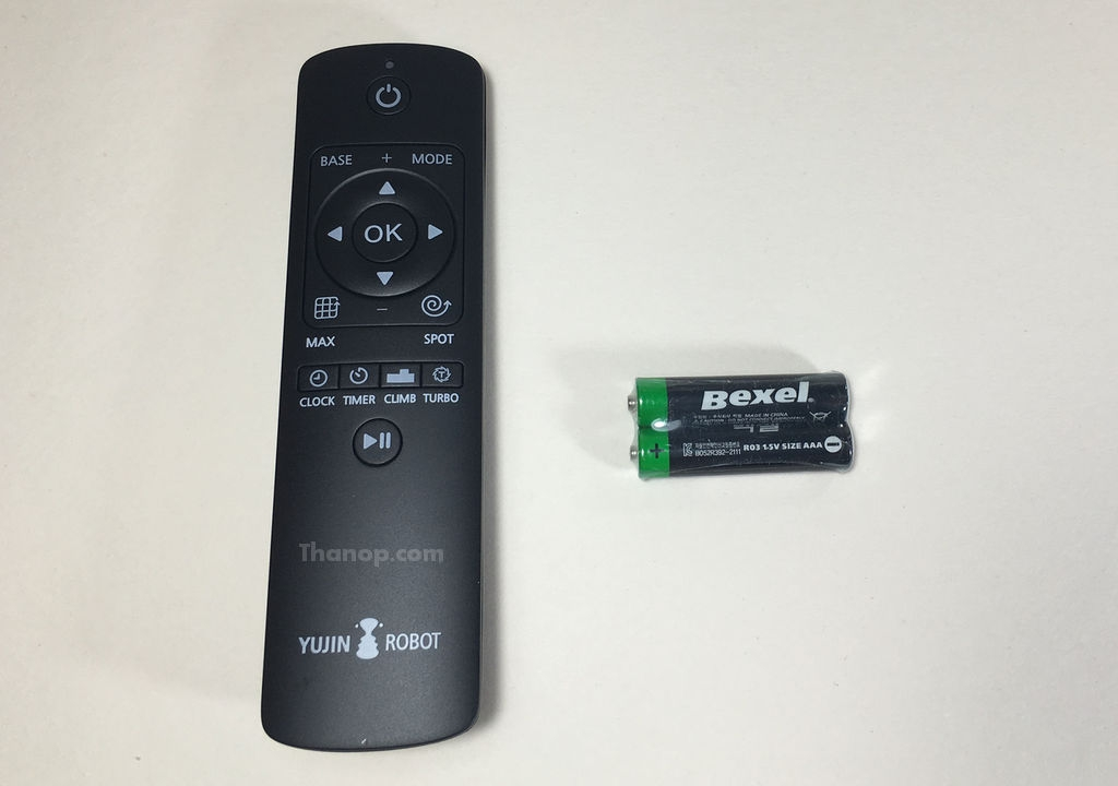iClebo OMEGA Remote Control with AAA Battery