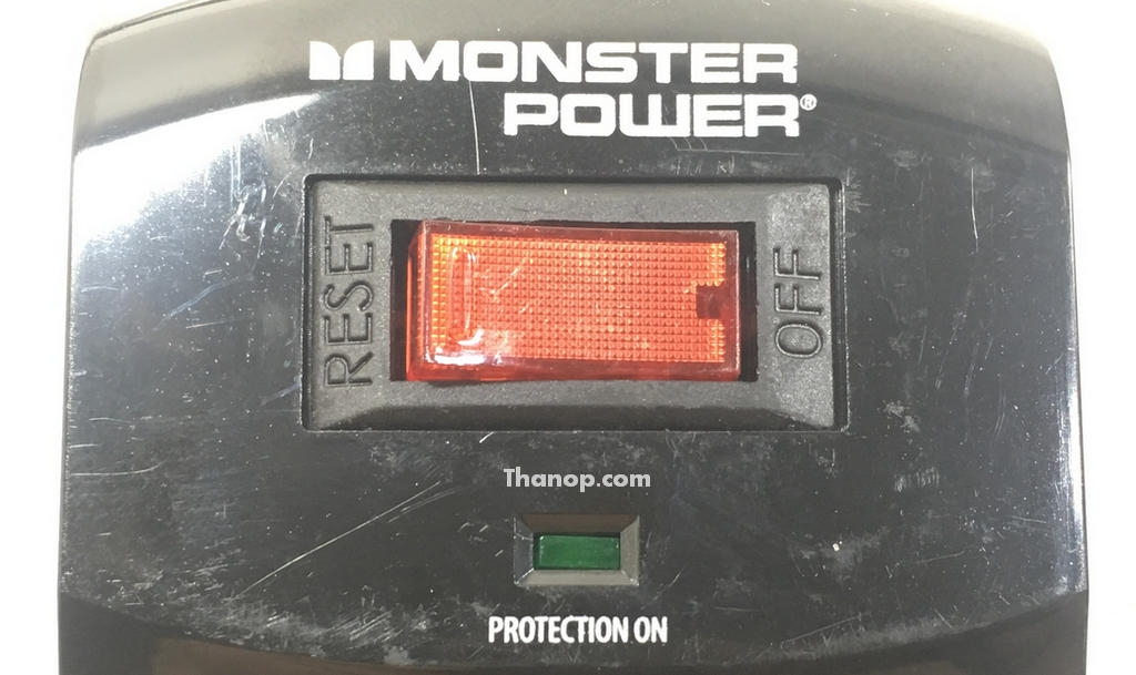 Monster Power MP400TH and MP600TH Power Switch Zoom
