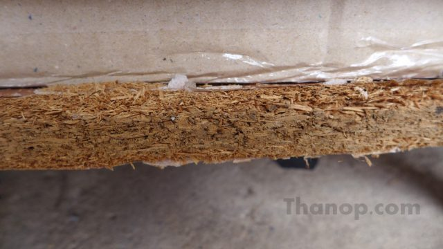 Wood for Furniture Particle Board After Touched Water