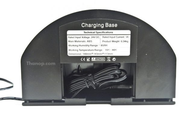 iBOT i800 Hybrid Charge Base Rear Uncovered