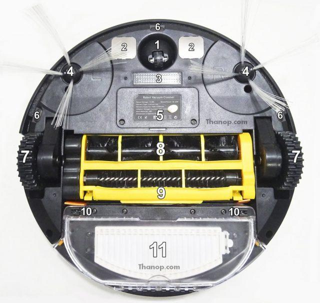 iBOT i800 Hybrid Component Underside