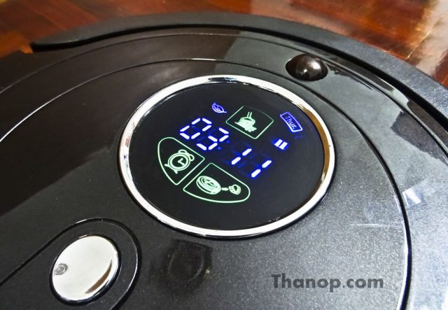 Robot Vacuum Cleaner - Digital Display Screen