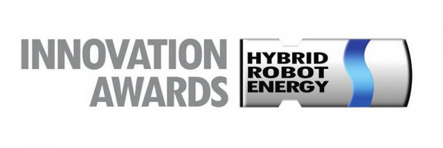 iBOT i800 Hybrid Innovation Awards Logo