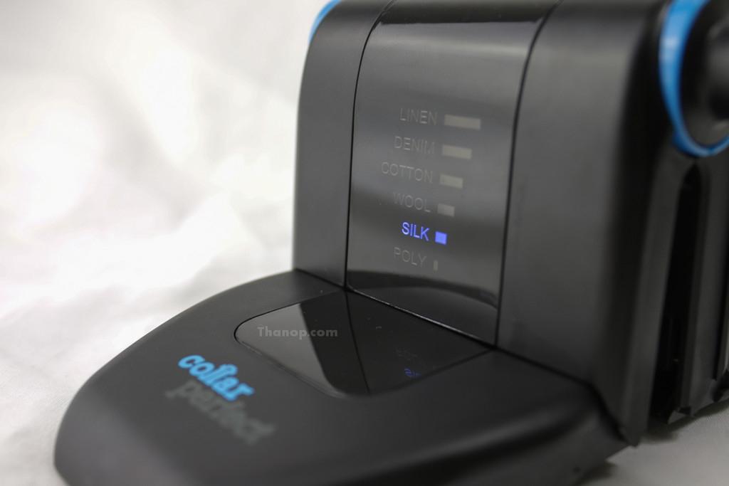 Collar Perfect Iron Heat Level Silk