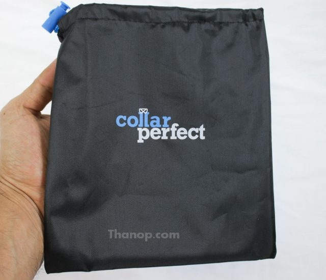 Collar Perfect Iron Lined Travel Bag