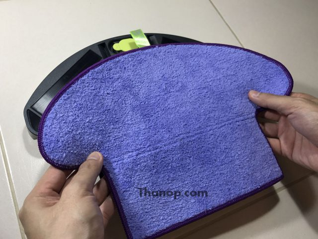 AUTOBOT Vortex Microfiber Cloth Installation