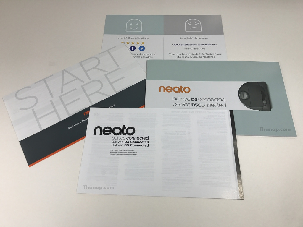 Neato Botvac D5 Connected User Manual and other Documents