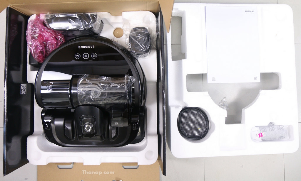 Samsung POWERbot VR9300 Box Unpacked