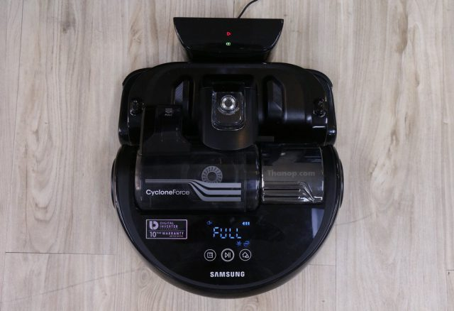 Samsung POWERbot VR9300 Charging with Charge Base