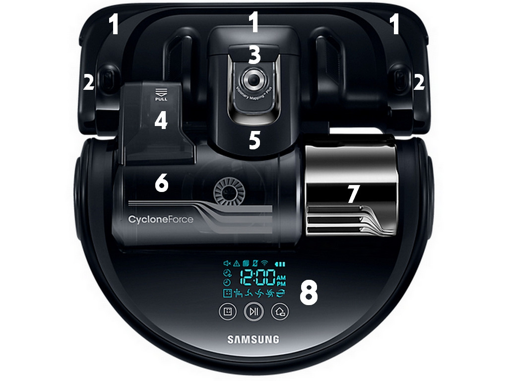 Samsung POWERbot VR9300 Component Top