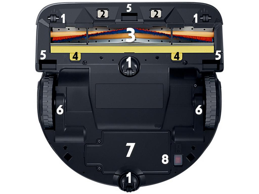 Samsung POWERbot VR9300 Component Underside