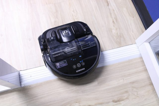 Samsung POWERbot VR9300 Working Crossing Doorsill