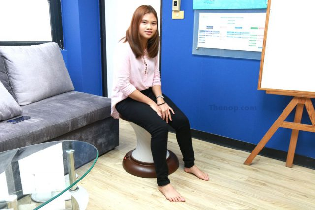 RESTER HULA CHAIR Tester Female 158 cm.