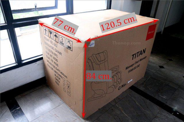 RESTER TITAN EC-362 Box
