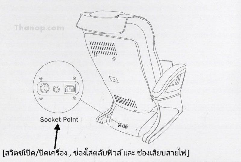 RESTER TITAN EC-362 Component Rear