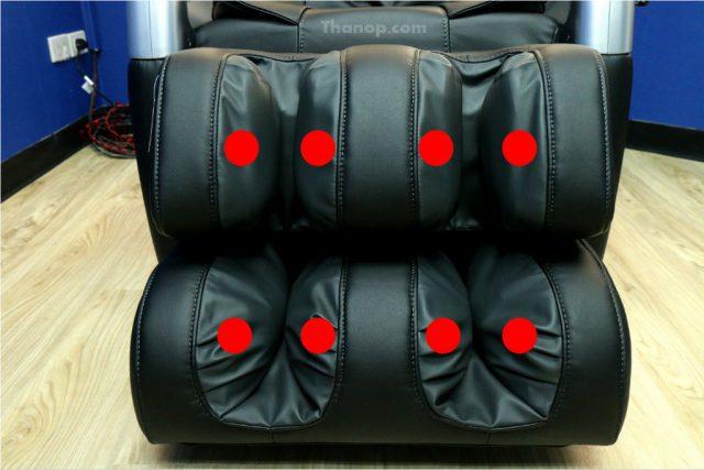 RESTER TITAN EC-362 Footrest Air Bag In