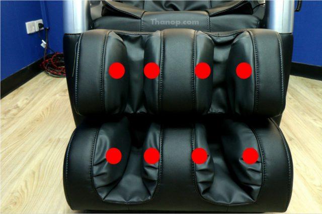 RESTER TITAN EC-362 Footrest Air Bag Out