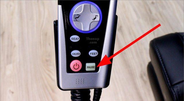RESTER TITAN EC-362 Remote Control Pause Button