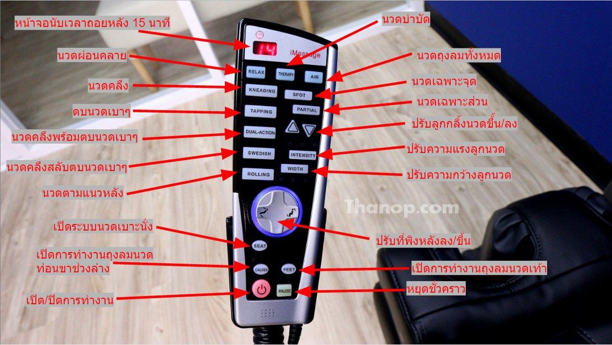 RESTER TITAN EC-362 Remote Control