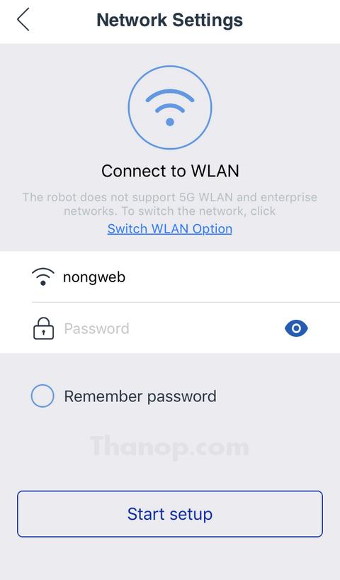 ECOVACS DEEBOT R95 App Network Setting