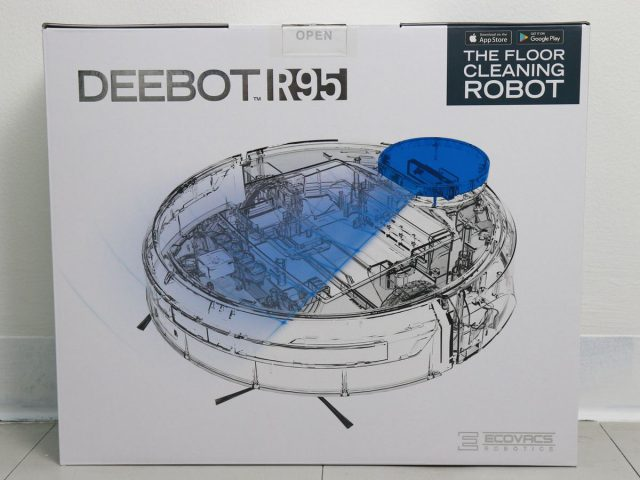 ECOVACS DEEBOT R95 Box Rear