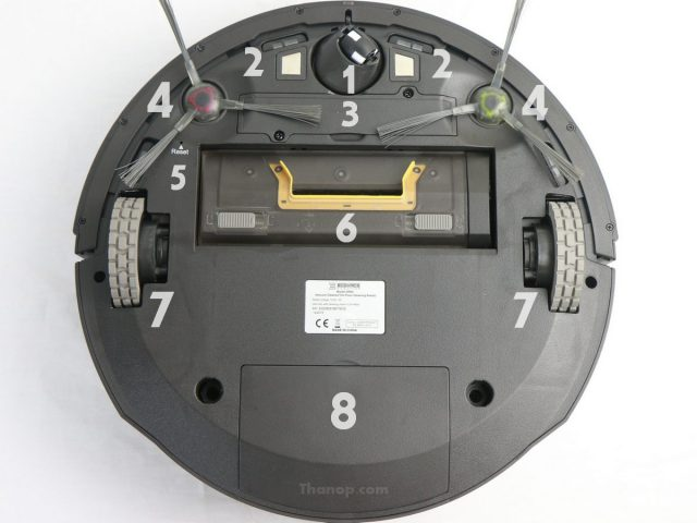 ECOVACS DEEBOT R95 Component Underside