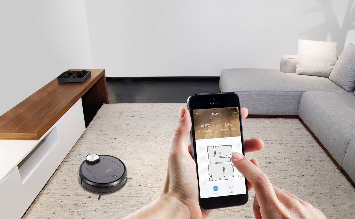 ECOVACS DEEBOT R95 Feature Smartphone Control
