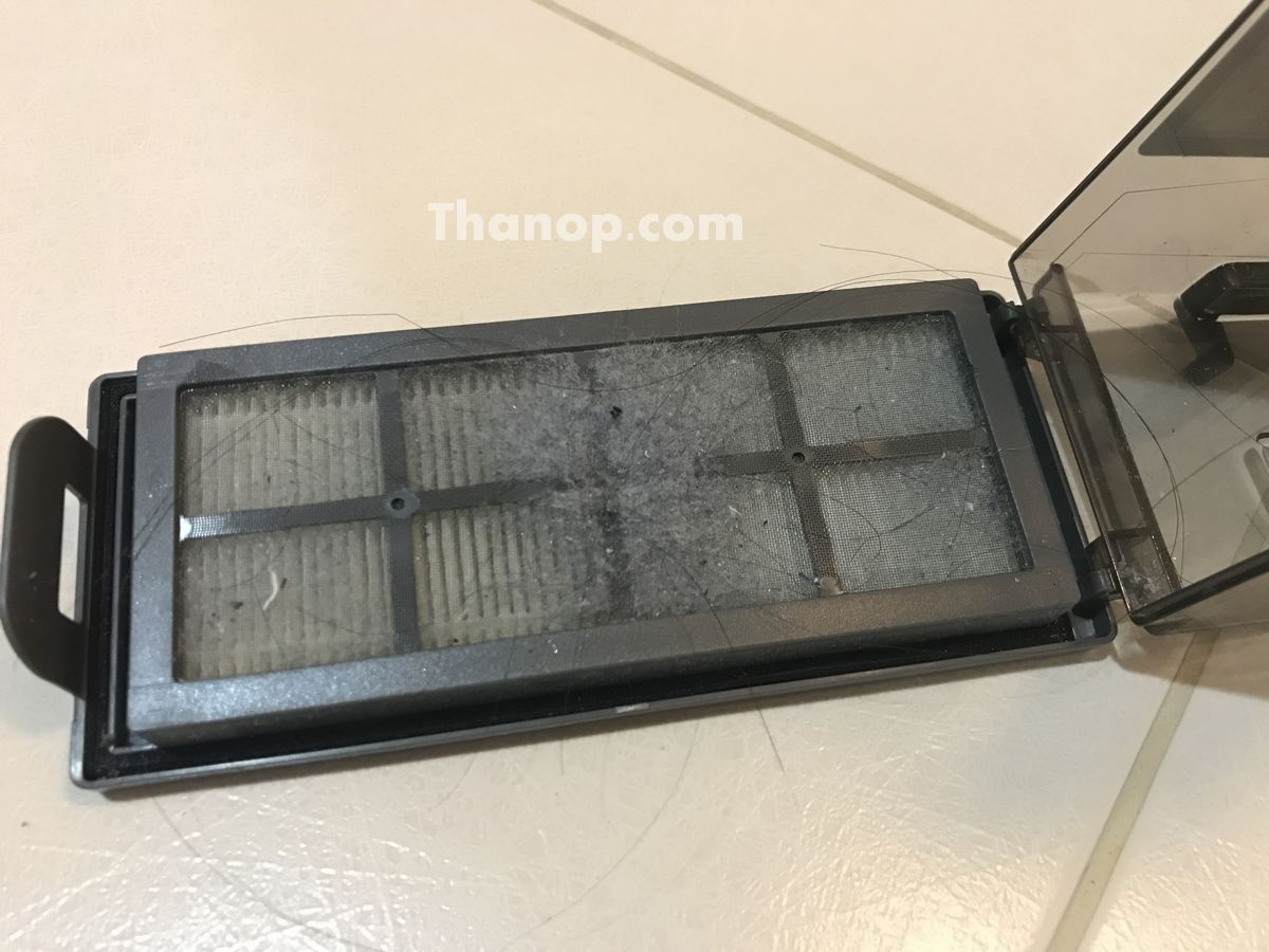 ECOVACS DEEBOT R95 Filter After Used