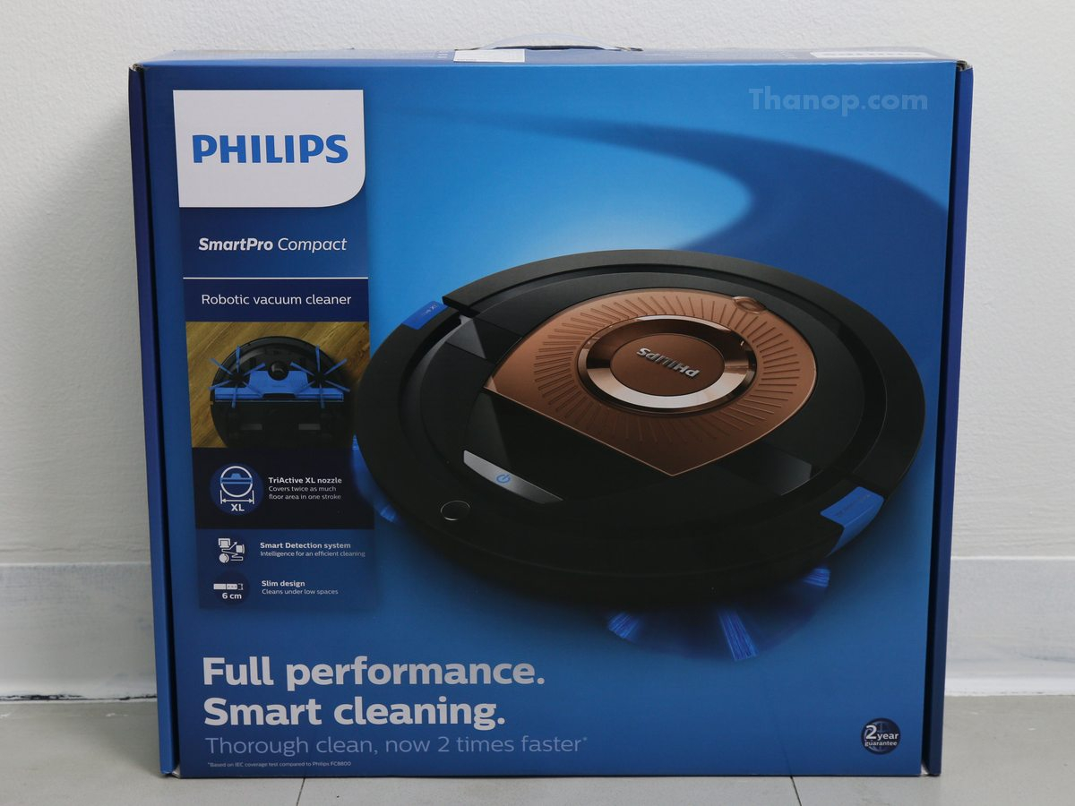 Philips SmartPro Compact FC8776 Box Unpacked