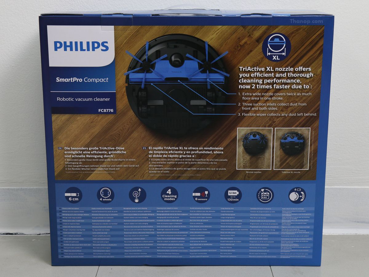 Philips SmartPro Compact FC8776 Box Rear