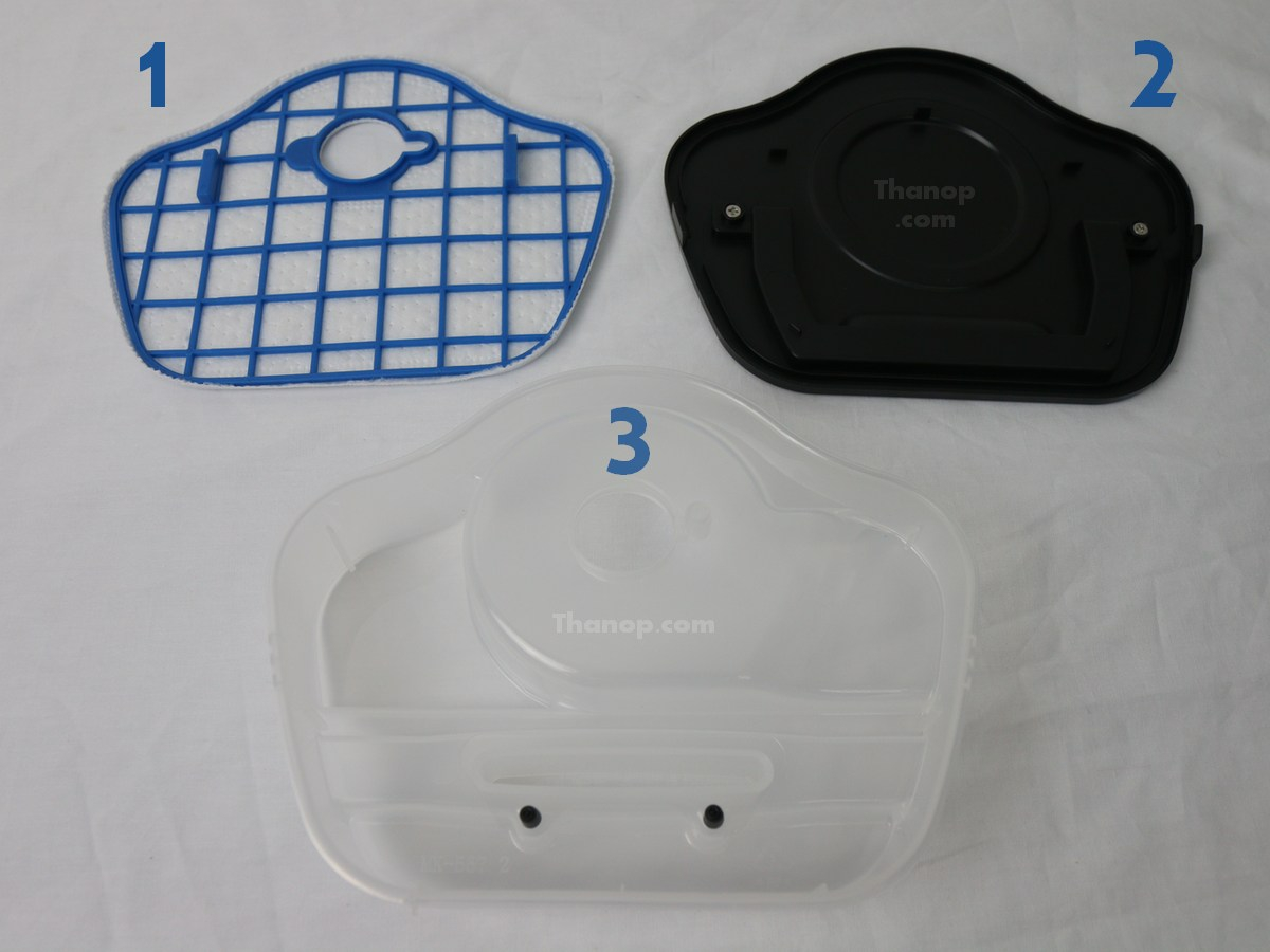 Philips SmartPro Compact FC8776 Component Dust Container