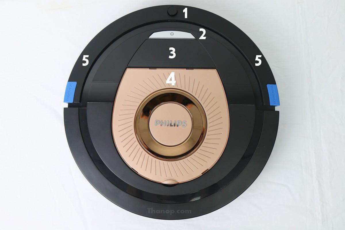 Philips SmartPro Compact FC8776 Component Top
