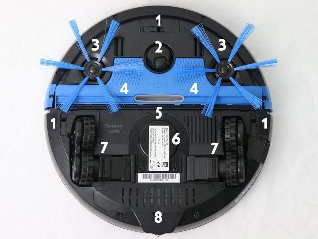 Philips SmartPro Compact FC8776 Component Underside