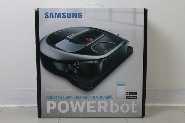 Samsung POWERbot VR7000 Box Front