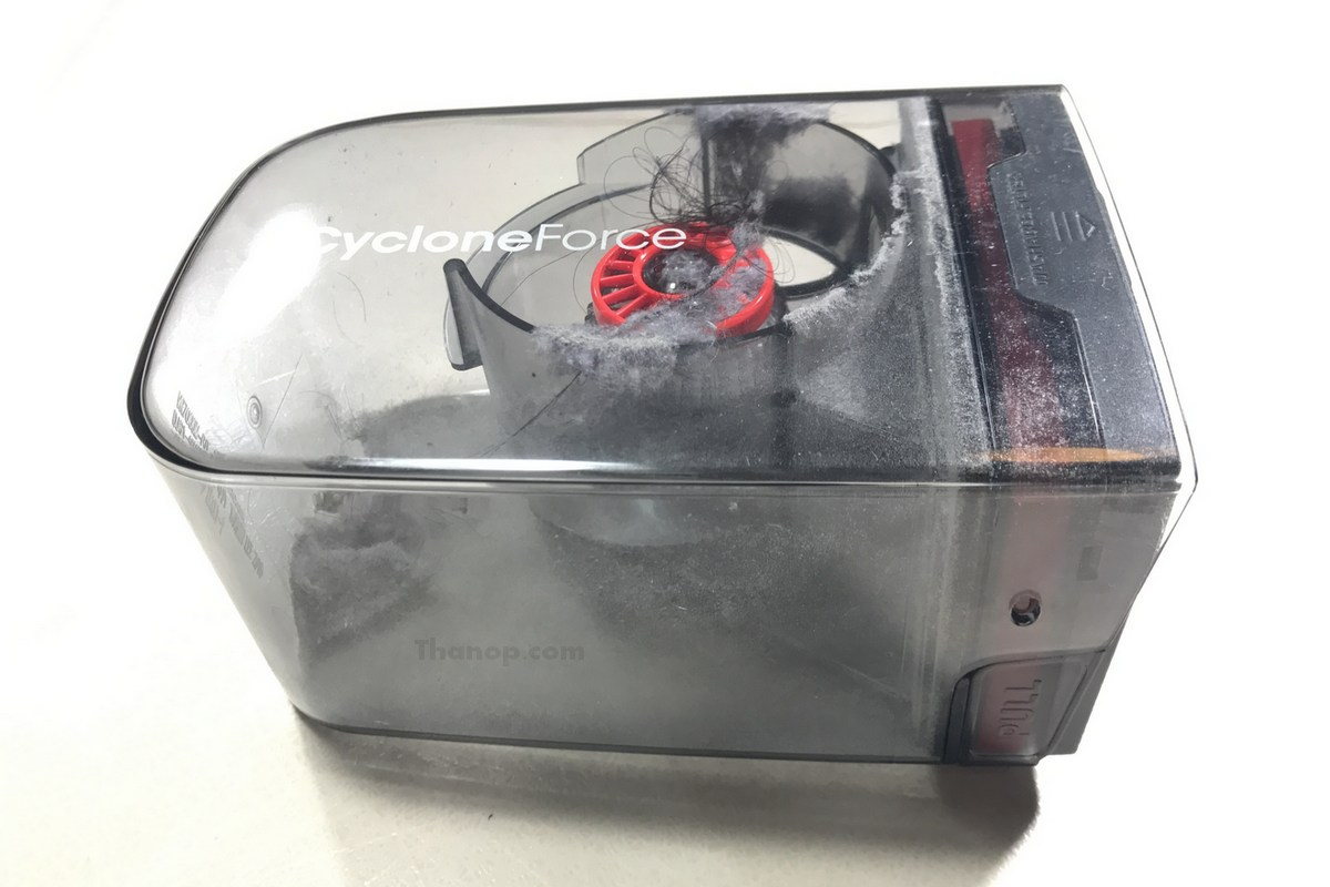 Samsung POWERbot VR7000 Dustbin After Used