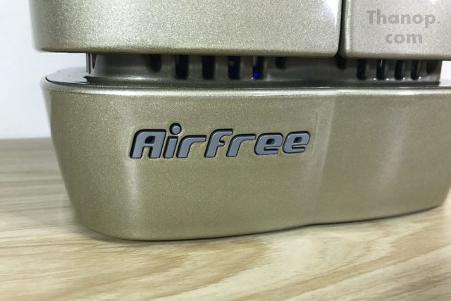 Airfree Lotus Air Inlet and Logo