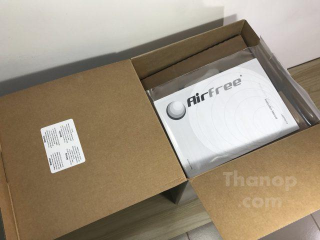 Airfree Lotus Box Unpacked