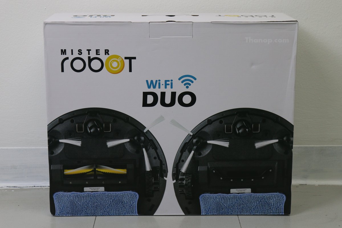 Mister Robot Duo Wi-Fi Box Rear