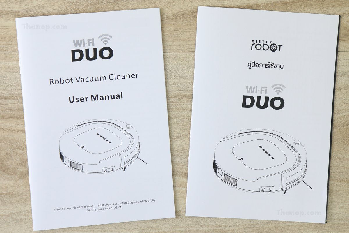 Mister Robot Duo Wi-Fi User Manual
