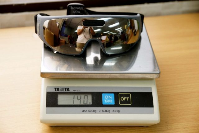 RESTER iSee Weight Battery Inserted