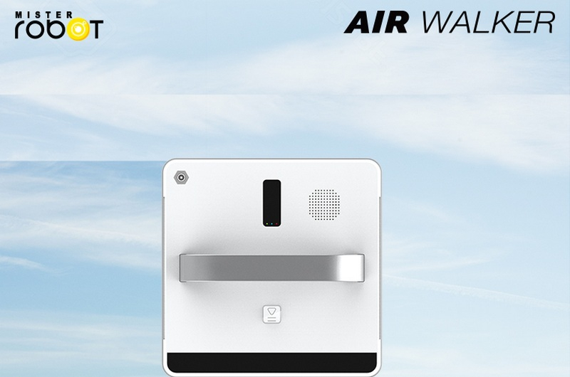 Mister Robot AIR WALKER Feature 99% Cleaning Efficiency