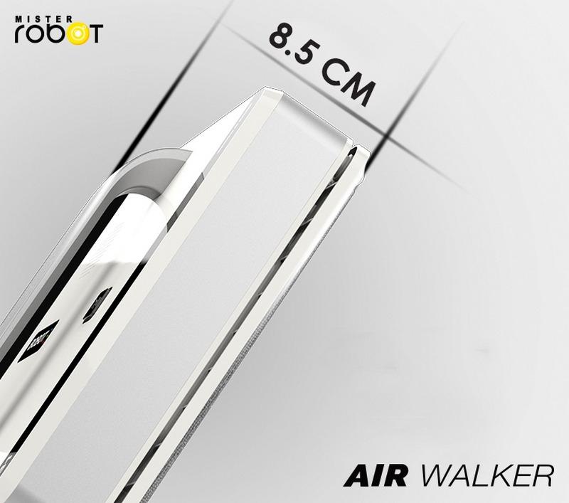 Mister Robot AIR WALKER Feature Slim Shape